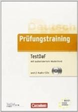 کتاب Prüfungstraining DaF B2-C1 - TestDaF Ubungsbuch mit autorisiertem Modelltest und CDs