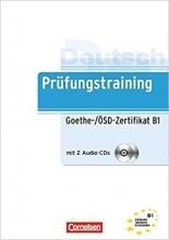 کتاب آلمانی آزمونی گوته Prufungstraining Daf: Goethe-/Osd-Zertifikat B1 + CD