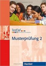 کتاب تست داف ماستر پروفونگ TestDaF Musterprüfung 2 MIT Audio-CD