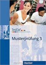 کتاب تست داف ماستر پروفونگ TestDaF Musterprüfung 3 MIT Audio-CD