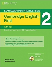 کتاب زبان Exam Essentials Practice Tests First (FCE) 2+DVD