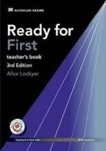 کتاب معلم ردی فور فرست ویرایش سوم Ready for First (3rd Edition) Teacher's Book with CD