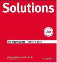 کتاب  Solutions Pre-Intermediate 3rd Teachers Book +CD