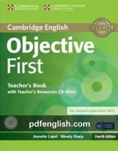 کتاب معلم آبجکتیو فرست Objective First Teacher's Book