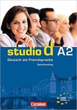 کتاب  (Studio d: Sprachtraining A2 (SB+WB+DVD