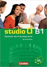 کتاب  (Studio d: Sprachtraining B1 (SB+WB+DVD