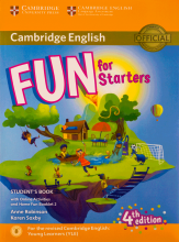 کتاب Fun for Starters Students Book 4th+Home Fun Booklet 2+CD