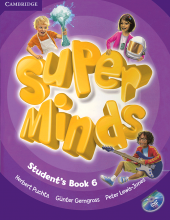 کتاب Super Minds 6 SB+WB+CD+DVD