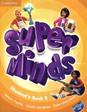 کتاب Super Minds 5 SB+WB+CD+DVD