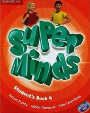 کتاب Super Minds 4 SB+WB+CD+DVD