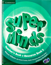 کتاب معلم Super Minds 3 Teachers Book+CD