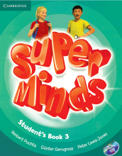 کتاب Super Minds 3 SB+WB+CD+DVD