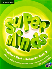 کتاب معلم Super Minds 2 Teachers Book+CD