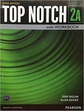 کتاب Top Notch 3rd 2A +DVD