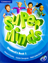 کتاب Super Minds 1 SB+WB+CD+DVD