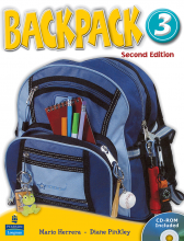 کتاب Backpack 3 SB+WB+CD