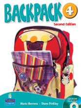 کتاب Backpack 4 SB+WB+CD