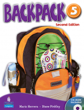 کتاب Backpack 5 SB+WB+CD