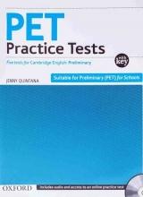 کتاب PET Practice Tests+CD
