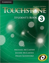 کتاب آموزشی تاچ استون Touchstone 2nd 3 SB+WB+CD تحریر