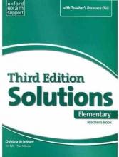 کتاب  Solutions Elementary Teachers Book 3rd+CD