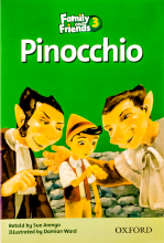 کتاب Family and Friends Readers 3 Pinocchio