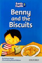 کتاب Family and Friends Readers 1 Benny and the Biscuits