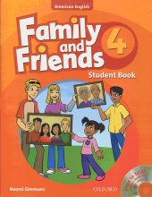 کتاب Family and Friends American English 4 Student book+wb