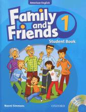 کتاب Family and Friends American English 1 Student book+wb