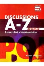 کتاب زبان Discussions A-Z Advanced Book and Audio CD