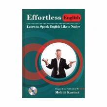کتاب زبان Effortless English+DVD