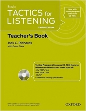 کتاب معلم  Tactics for Listening Basic: Teacher's Book Third Edition