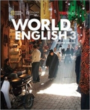 کتاب World English 3 2nd SB+WB+CD