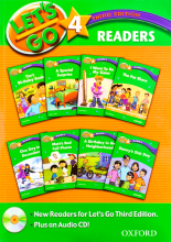 کتاب Lets Go 4 Readers Book 3rd