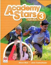 کتاب Academy Stars 3 Pupils Book+WB+CD