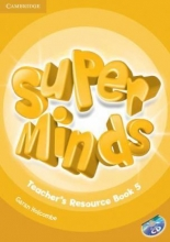 کتاب معلم Super Minds 5 Teachers Resource Book+CD