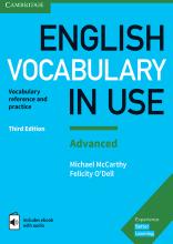 کتاب اینگلیش وکبیولری این یوز English Vocabulary in Use Advanced 3rd+CD وزیری