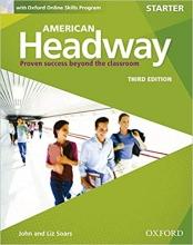 کتاب American Headway 3rd Starter SB+WB+DVD