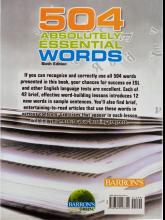 کتاب 504Absolutely Essential Words 6th+CD