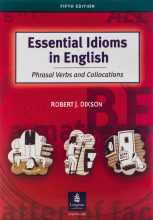 کتاب اسنتیال آیدیومس این انگلیش Essential Idioms in English Phrasal Verbs and Collocations 5th