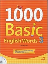 کتاب  1000Basic English Words 3 + CD