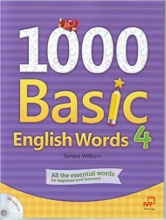 کتاب  1000Basic English Words 4 + CD