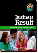 کتاب آموزشی بیزینس ریزالت Business Result Pre-Intermediate Student's Book