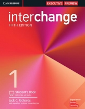 کتاب Interchange 5th 1 SB+WB+CD وزیری