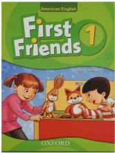 کتاب American First Friends 1 In One Volume SB+WB+CD