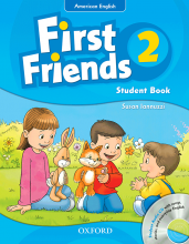 کتاب American First Friends 2 In One Volume SB+WB+CD