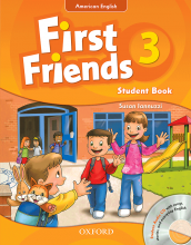 کتاب American First Friends 3 In One Volume SB+WB+CD