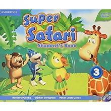 کتاب American Super Safari 3 SB+WB+DVD
