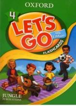 کتاب Flash Cards Lets Go 4 4th
