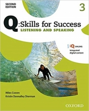 کتاب کیو اسکیلز فور ساکسس Q Skills for Success 2nd 2 Listening and Speaking+CD